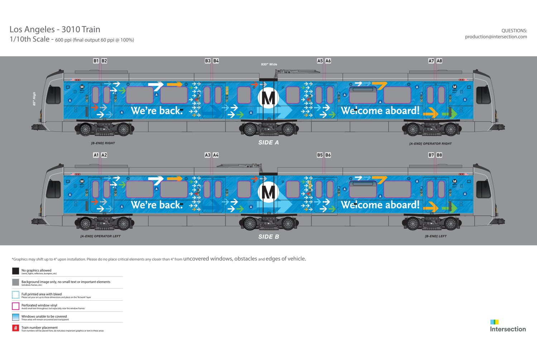 A Line Train Wrap